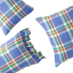Pillowcase set : Cornflower Check