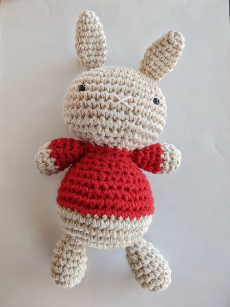 Bruce Bunny : Red Sweater