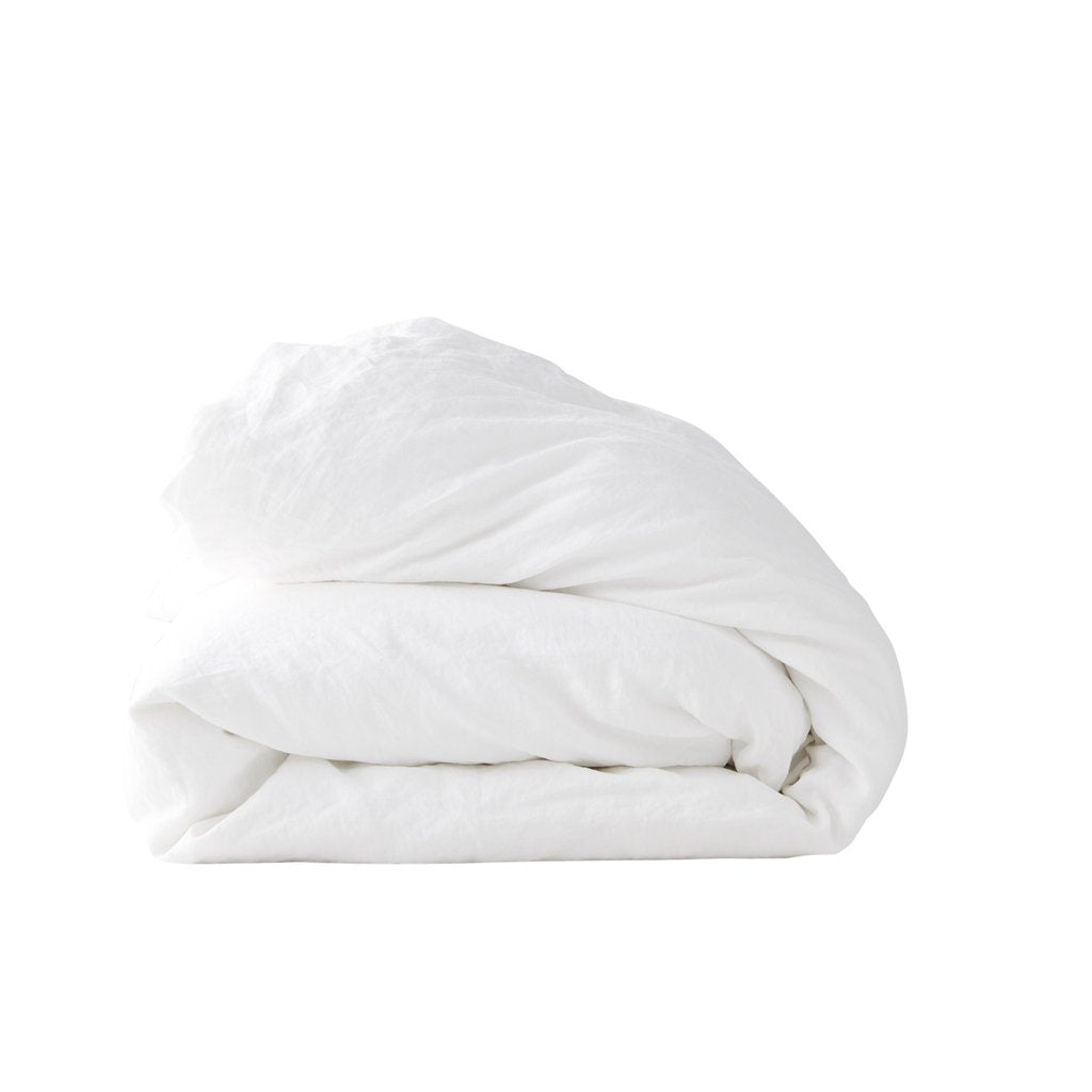 Duvet cover : White