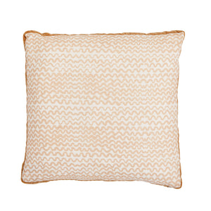 Tiny Waves Bone cushion  (50cm)
