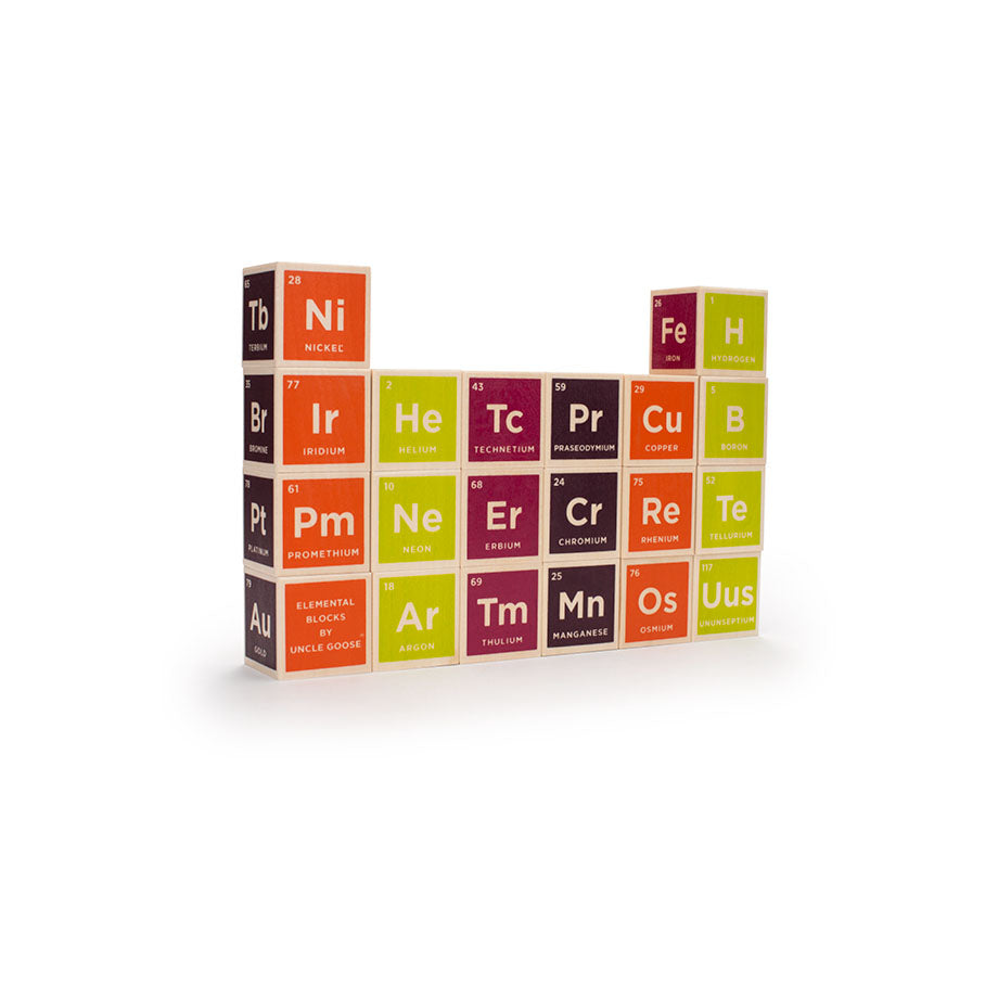Periodic Table Blocks : set of 20
