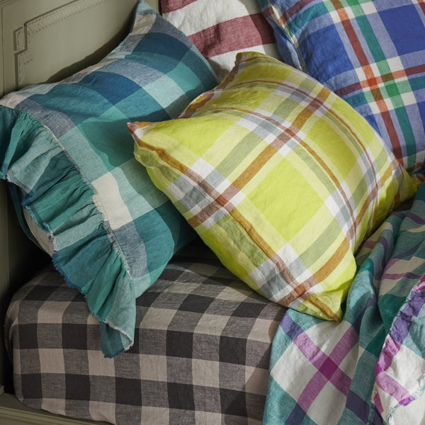 Pillowcase sets : Citron Check
