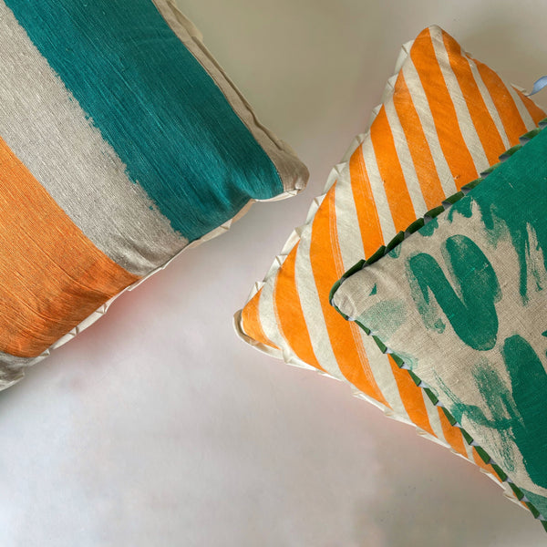 Broad Brushstrokes cushion  (60cm)
