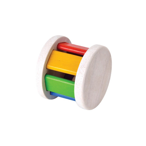 Eco wooden toy : Roller with bell