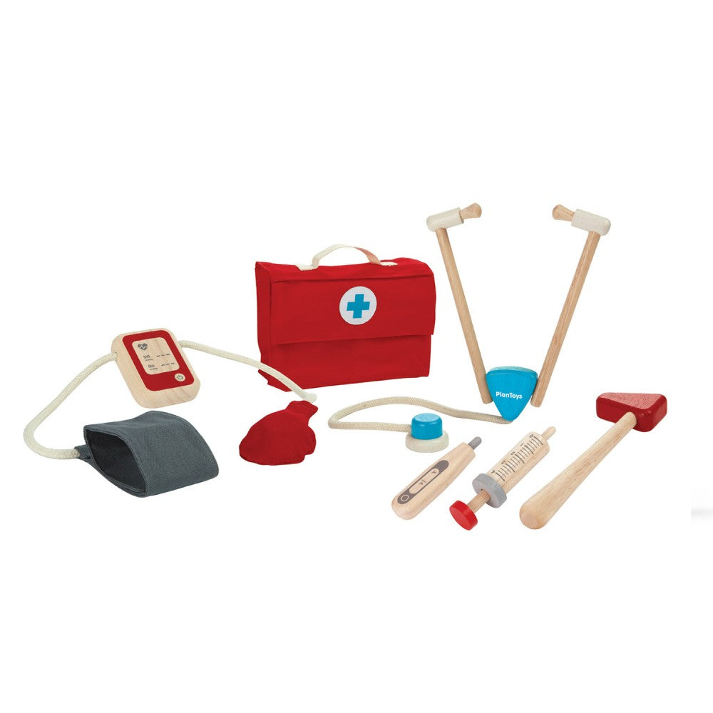 Wooden Plan Toy : Doctors Kit