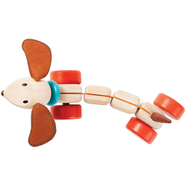 Pull Along wooden Happy Puppy
