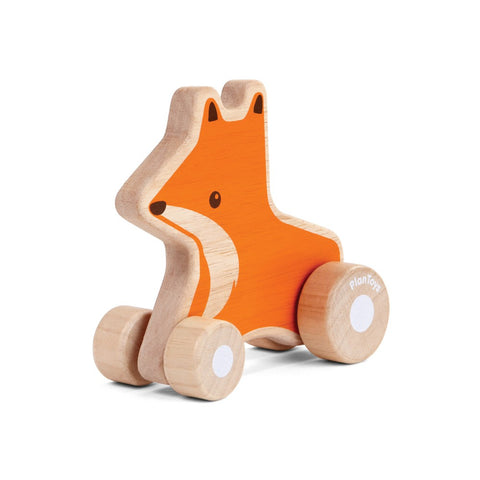 Fox Wheelie wooden Plan Toy