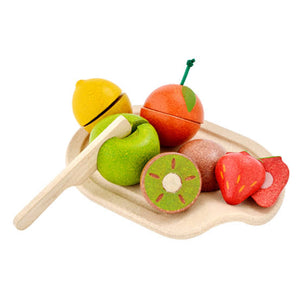 Wooden Plan Toy fruit set