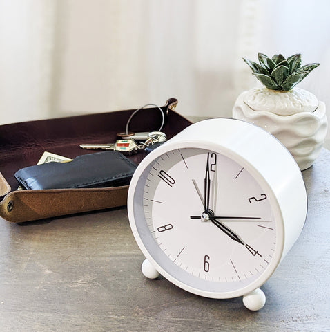 Revelrys Modern Table Top Clock