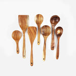 Olivewood Spoon & Spatula Set