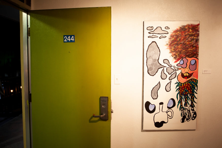 Trippyville Solo Show at FAVO Opens Reception