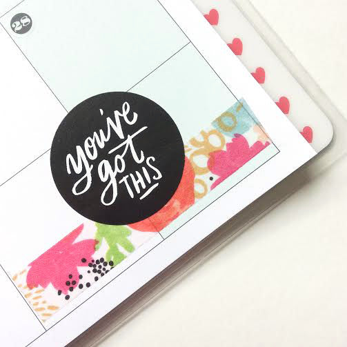 You've Got This Sticker in a Happy Planner