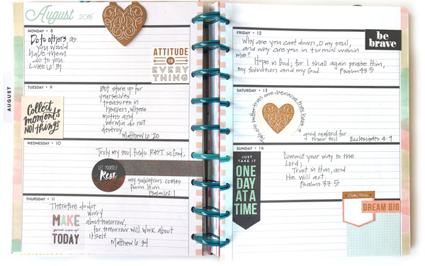 Faith Planner Happy Planner