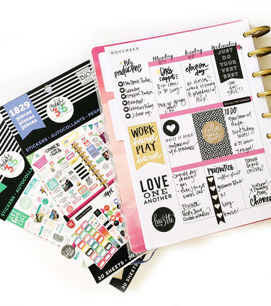 Happy Planner and Planner Sticker Packs