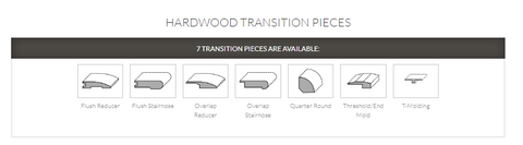 HARDWOOD TRANSITION PIECES