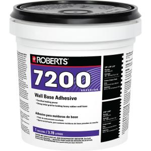 Roberts® 7200 Wall Base Adhesive