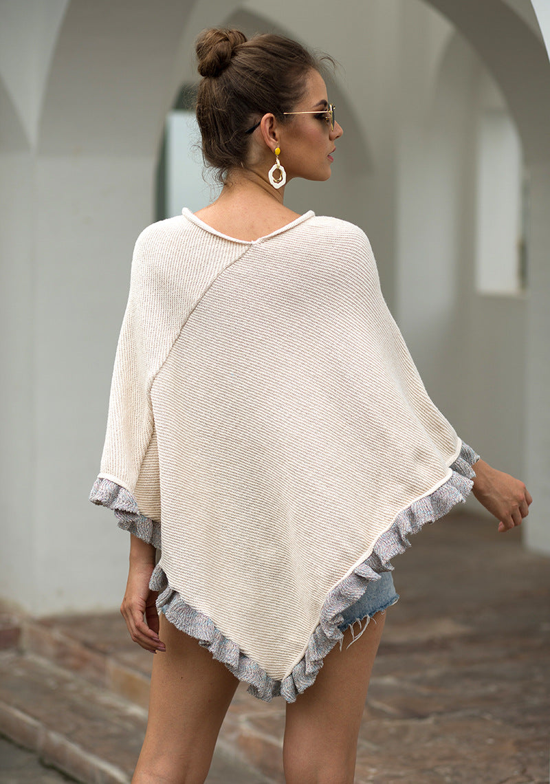 Lady's Knitted Ponchos