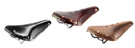 Sögreni Brooks Bike Saddles