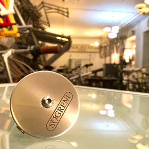 Stainless steel bicycle bell