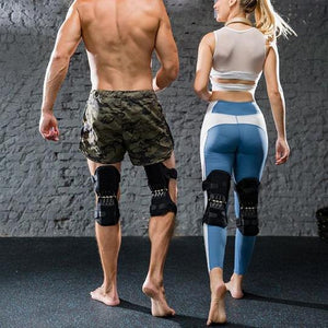 """Only had since yesterday really works, help me to stand up much more easily""  ~ Paul N., PowerLift Knee Supporters Customer"