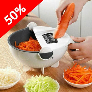 Multifunctional Rotate Vegetable Cutter