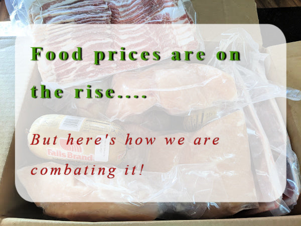 The cost of food in 2021 is on the rise...quickly. Here's the co-op inside scoop!