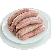 "10 lb Case of German Bratwurst, FREE FROM ""Big 8"" Allergens & Gluten, No Sugar or Nitrates, USA Heritage Pork, Antibiotic Free, PALEO"