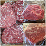 4 - 3-3.5 lb Natural Chuck Roast, Locally Sourced (14 lb Total)