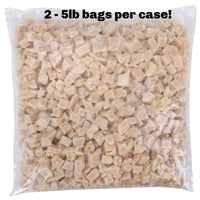 OVERSTOCK DEAL: 10lb Case of Pre-Cooked Diced Chicken Breast