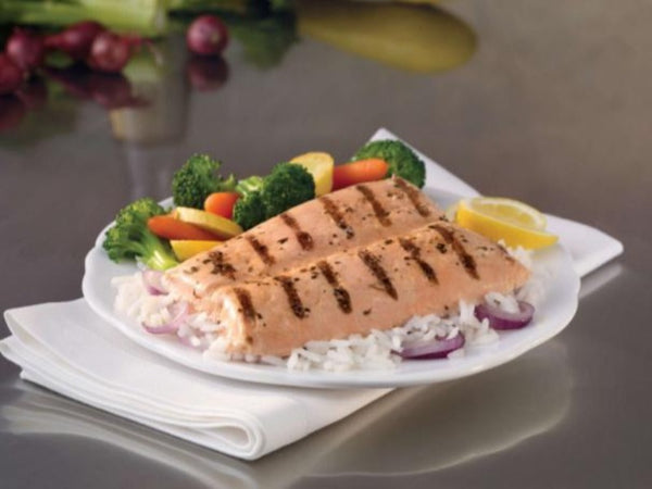 Already Grilled 10.5 lb Case: Wild Caught Alaskan Salmon, Certified Sustainable