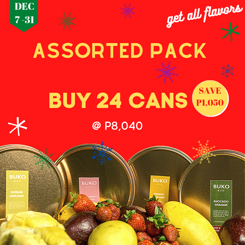 24 Cans Assorted Package +3 Free Avocado Graham Ice Cream
