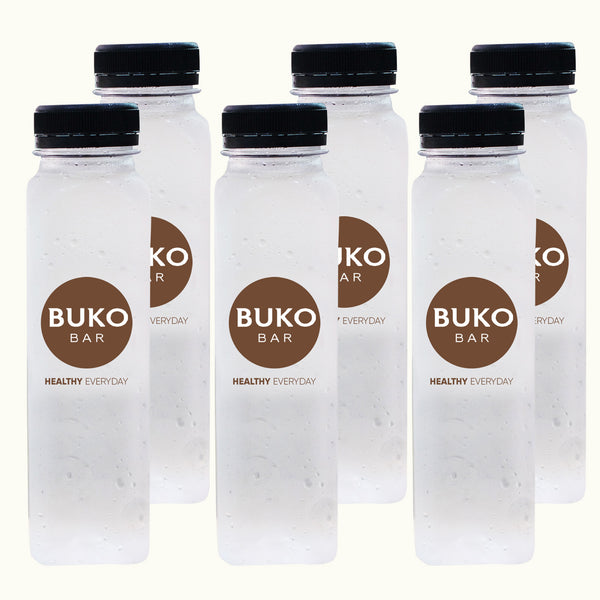 Fresh Pure Buko Juice - 6 Bottles