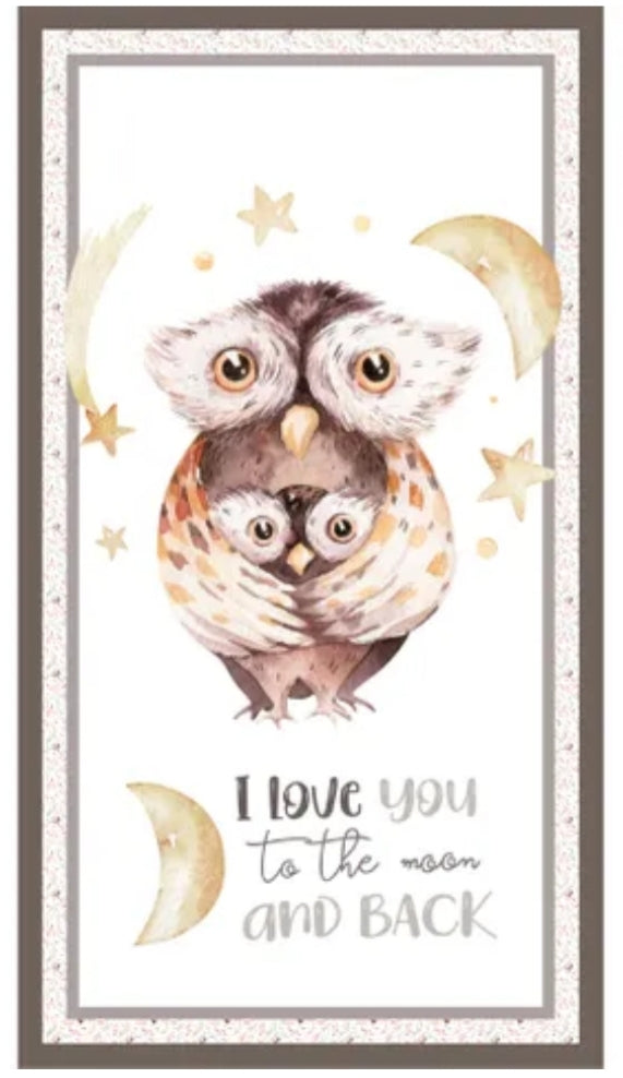 A MOTHER'S LOVE - OWL PANEL