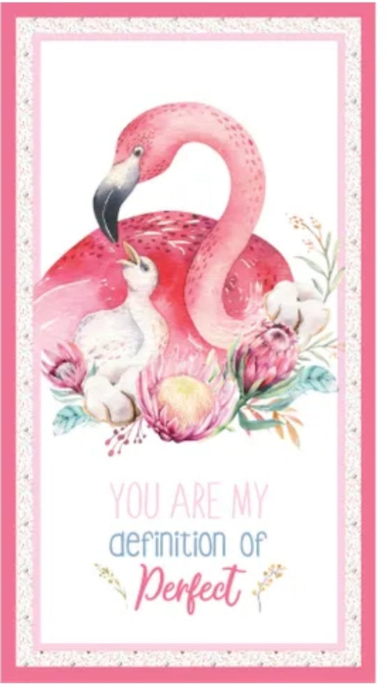 A MOTHER'S LOVE - FLAMINGOS PANEL