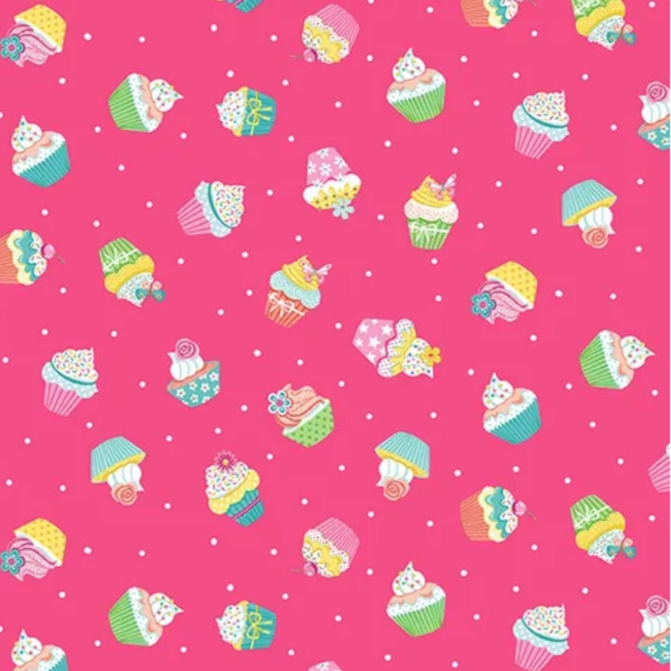REDUCED - DAYDREAM - CUPCAKES PINK