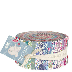 TILDA WOODLAND JELLY ROLL