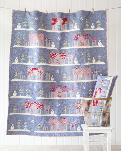 TILDA WOODLAND HOUSE IN THE WOODS QUILT KIT - PRE-ORDER