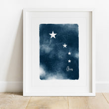 Load image into Gallery viewer, Aries Star Map- Instant Download Wall Art Print