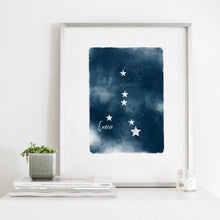 Load image into Gallery viewer, Cancer Star Map- Instant Download Wall Art Print