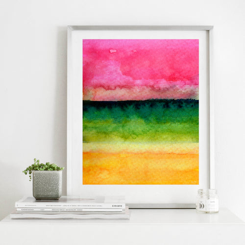 Awakened- Colorful Abstract Digital Download Wall Art