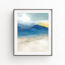 Load image into Gallery viewer, Beach Memories- Printable Coastal Art