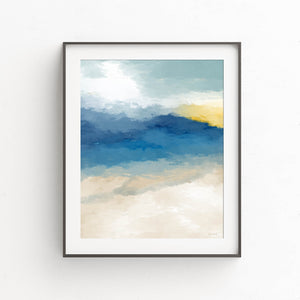 Beach Memories- Printable Coastal Art
