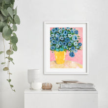 Load image into Gallery viewer, Blue Flowers- Digital Printable Wall Art