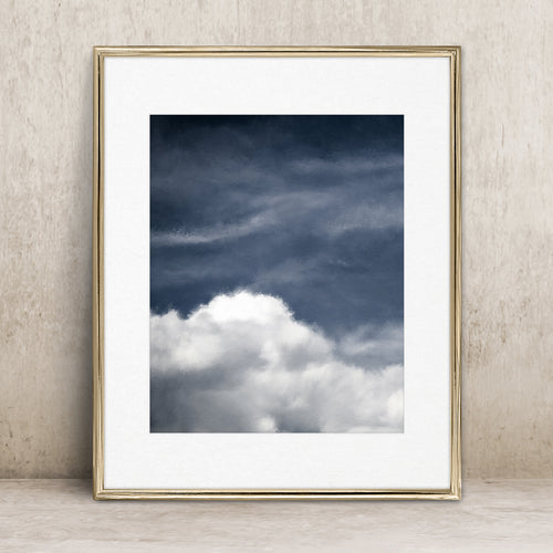 Dreamy Clouds 1- Instant Download Art Print