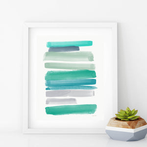 Coastal Hues- Printable Coastal Art