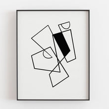 Load image into Gallery viewer, Connecting Lines 1- Printable Minimal Art