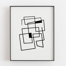 Load image into Gallery viewer, Connecting Lines 2- Printable Minimal Art