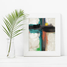 Load image into Gallery viewer, Contemporary Cross- Instant Download Inspirational Wall Art