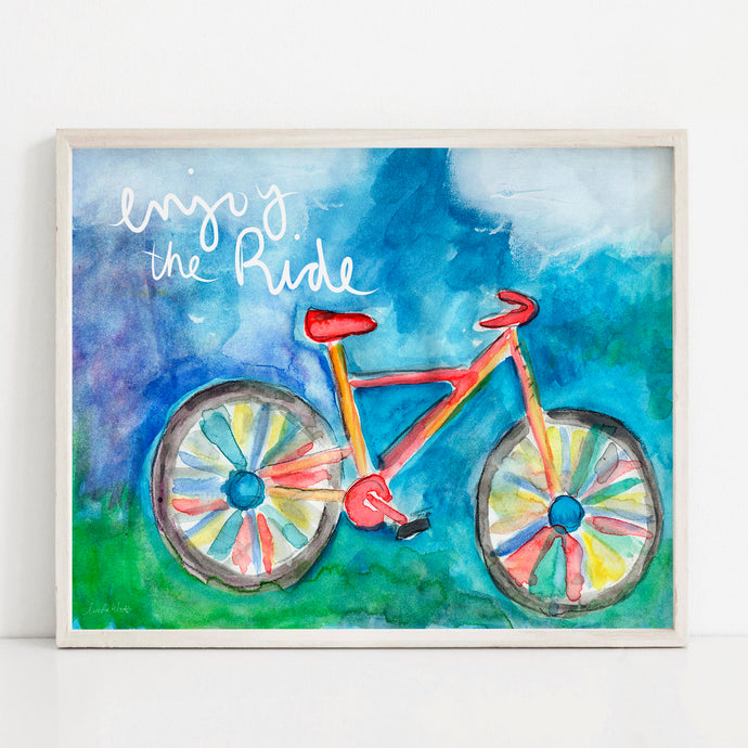 Enjoy The Ride- Printable Art