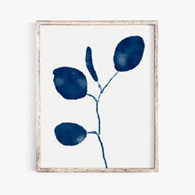Load image into Gallery viewer, Indigo Eucalyptus 2- Printable Art
